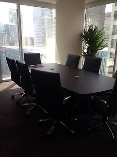 the conference room at our offices is perfect for meeting your closing attorney